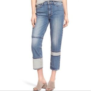 PAIGE High Rise Sarah Straight Jeans Size 26